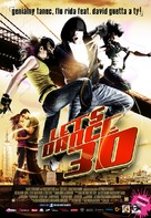 Step Up 3D - Slovak Movie Poster (xs thumbnail)