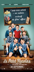 Le petit Nicolas - French Movie Poster (xs thumbnail)
