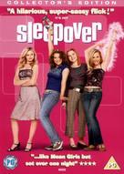 Sleepover - British DVD movie cover (xs thumbnail)