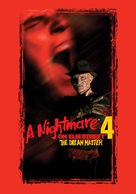A Nightmare on Elm Street 4: The Dream Master - British DVD movie cover (xs thumbnail)