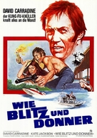 Thunder and Lightning - German Movie Poster (xs thumbnail)