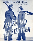 Buck Privates Come Home - Danish Movie Poster (xs thumbnail)