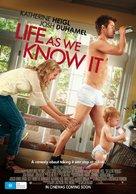 Life as We Know It - Australian Movie Poster (xs thumbnail)