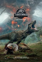 Jurassic World: Fallen Kingdom - British Movie Poster (xs thumbnail)