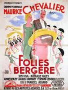 Folies Bergère de Paris - French Movie Poster (xs thumbnail)
