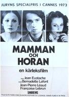 La maman et la putain - Swedish Movie Poster (xs thumbnail)