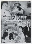The Barefoot Contessa - Spanish poster (xs thumbnail)