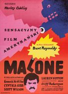 Malone - Polish Movie Poster (xs thumbnail)