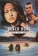 Black Robe - German Movie Poster (xs thumbnail)