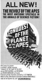 Conquest of the Planet of the Apes - poster (xs thumbnail)