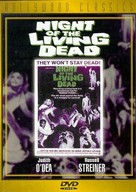 Night of the Living Dead - DVD cover (xs thumbnail)