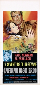 Hemingway's Adventures of a Young Man - Italian Movie Poster (xs thumbnail)