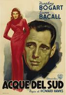 To Have and Have Not - Italian Movie Poster (xs thumbnail)