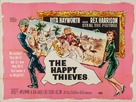 The Happy Thieves - British Movie Poster (xs thumbnail)