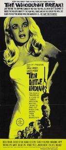 Ten Little Indians - Australian Movie Poster (xs thumbnail)