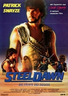 Steel Dawn - German Movie Poster (xs thumbnail)