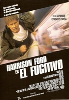 The Fugitive - Spanish Theatrical movie poster (xs thumbnail)