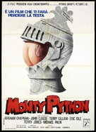 Monty Python and the Holy Grail - Italian Movie Poster (xs thumbnail)