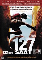 127 Hours - Turkish DVD cover (xs thumbnail)