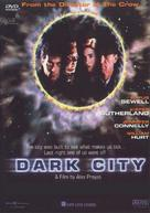 Dark City - Australian DVD cover (xs thumbnail)