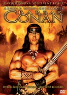 Conan The Barbarian - Czech DVD cover (xs thumbnail)
