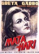 Mata Hari - German Movie Poster (xs thumbnail)