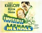 The Invisible Menace - Movie Poster (xs thumbnail)