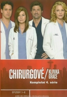 """Grey's Anatomy"" - Czech Blu-Ray movie cover (xs thumbnail)"