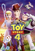 Toy Story 4 - British DVD movie cover (xs thumbnail)