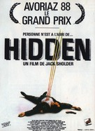 The Hidden - French Movie Poster (xs thumbnail)