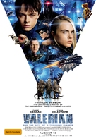 Valerian and the City of a Thousand Planets - Australian Movie Poster (xs thumbnail)