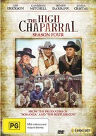 """The High Chaparral"" - Australian DVD movie cover (xs thumbnail)"
