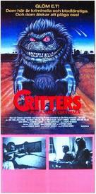 Critters - Swedish Movie Poster (xs thumbnail)