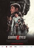 Snake Eyes: G.I. Joe Origins - Czech Movie Poster (xs thumbnail)