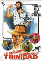 ...continuavano a chiamarlo Trinità - Spanish Movie Poster (xs thumbnail)