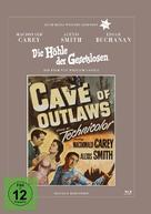 Cave of Outlaws - German DVD cover (xs thumbnail)