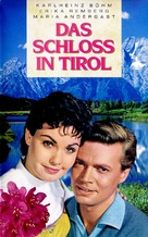 Das Schloß in Tirol - German VHS cover (xs thumbnail)