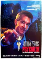 Psycho III - German Movie Poster (xs thumbnail)