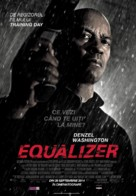 The Equalizer - Romanian Movie Poster (xs thumbnail)