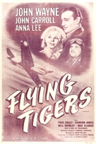 Flying Tigers - British Movie Poster (xs thumbnail)