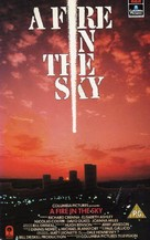 A Fire in the Sky - British VHS movie cover (xs thumbnail)