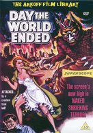 Day the World Ended - British Movie Cover (xs thumbnail)