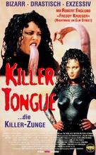 La lengua asesina - German VHS movie cover (xs thumbnail)