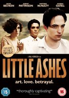 Little Ashes - British DVD cover (xs thumbnail)