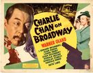 Charlie Chan on Broadway - Movie Poster (xs thumbnail)
