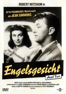 Angel Face - German DVD movie cover (xs thumbnail)