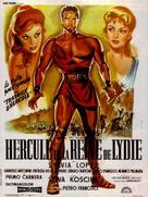 Ercole e la regina di Lidia - French Movie Poster (xs thumbnail)