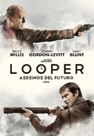Looper - Argentinian DVD movie cover (xs thumbnail)