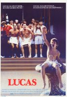 Lucas - German Theatrical movie poster (xs thumbnail)