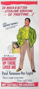 Somebody Up There Likes Me - Australian Movie Poster (xs thumbnail)
